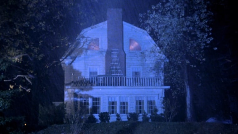 "Screenshot from the home featured in the 1979 film ""The Amityville Horror""."