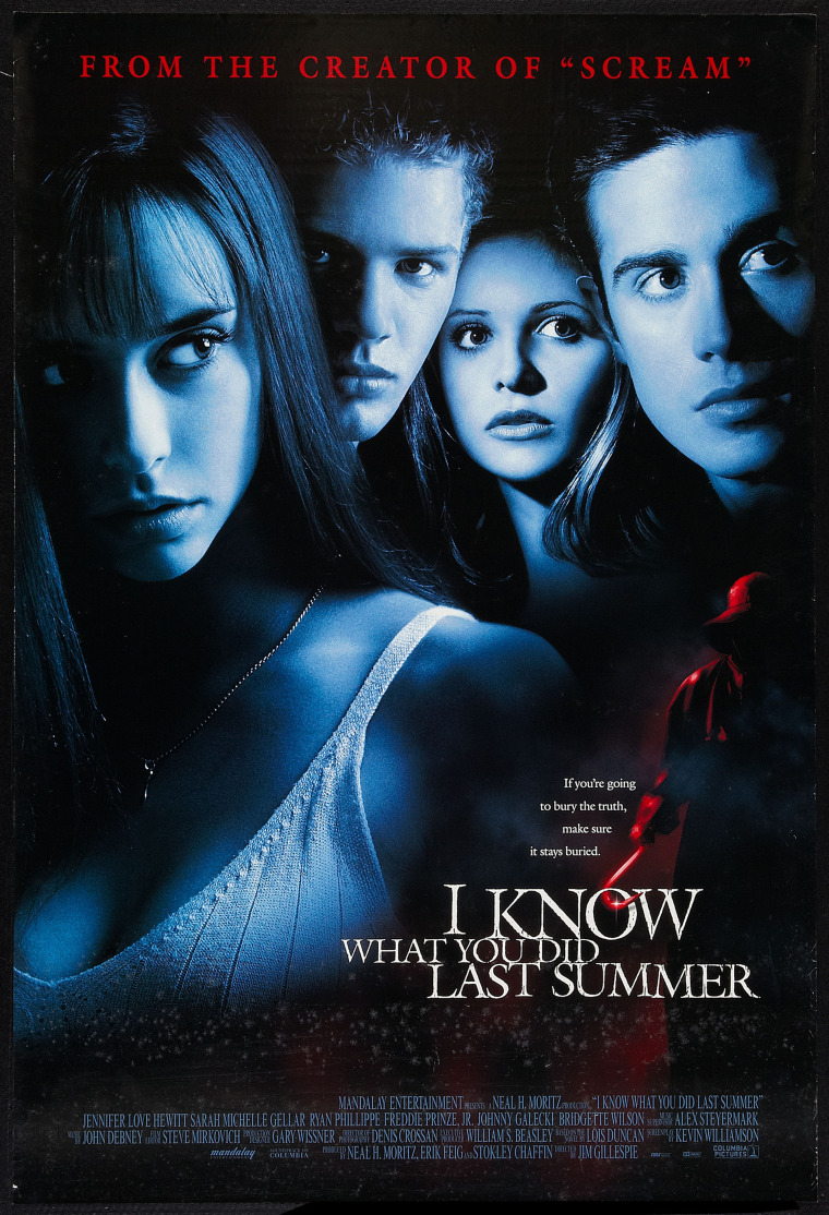 Movie Poster For 'I Know What You Did Last Summer'
