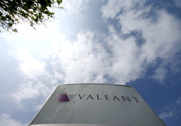 Image: Valeant Pharmaceuticals International Inc headquarters in Laval
