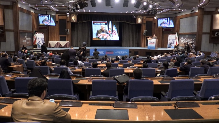 Image: The conference began in Tehran on Tuesday.