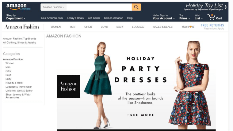 Is Amazon Going To Slip Into Its Own Line Of Clothing