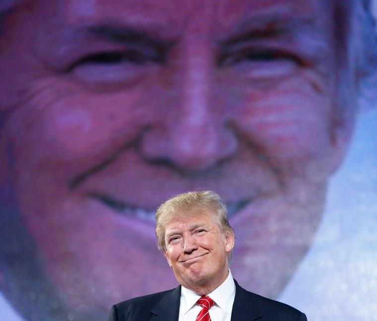 Image: Donald Trump speaks at FreedomFest
