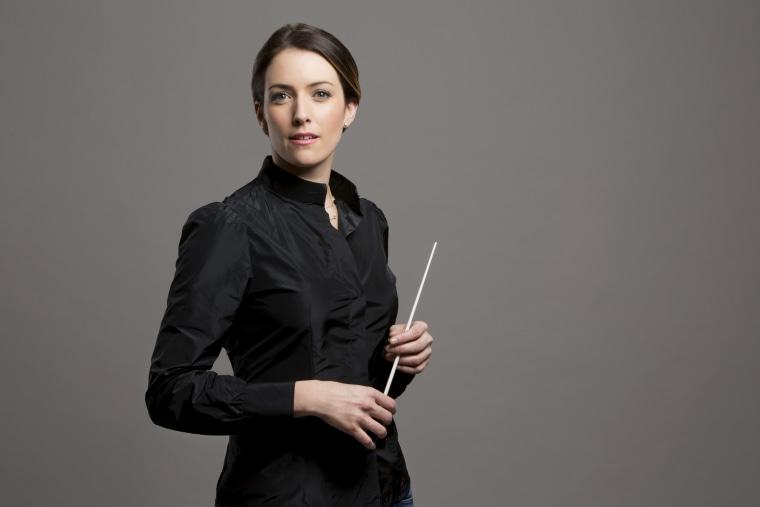 Conductor Alondra De la Parra.