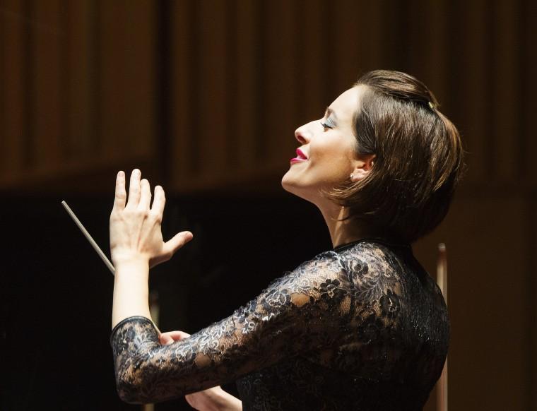 Clara Schumann's Piano Concert with the Swedish Radio Symphony Orchestra. Conductor: Alondra De la Parra.