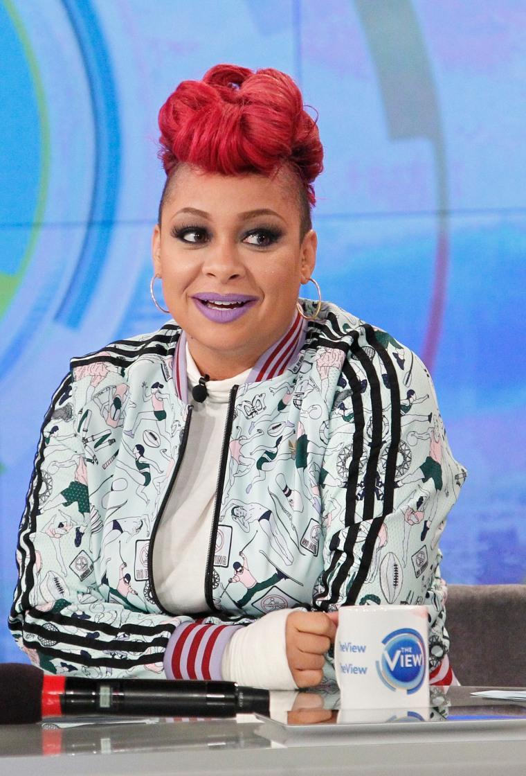 "Image: Raven Symoné hosts ABC's ""The View"" on Oct. 6, 2015."