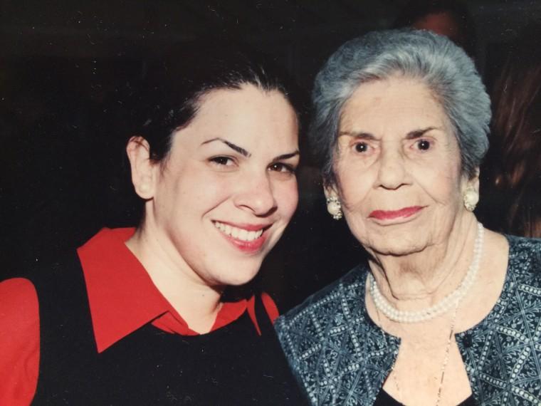 Image: Carmen Pelaez and her late grandmother, Alicia Oyarzun