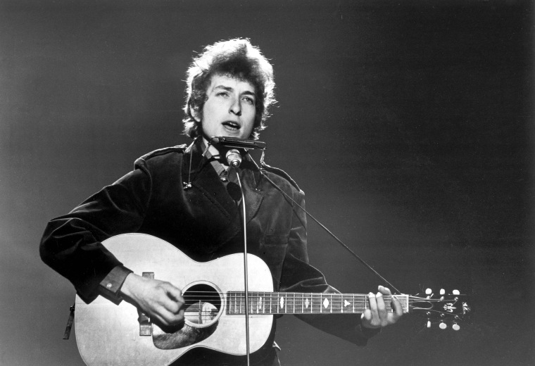 IMAGE: Bob Dylan on British TV in 1965