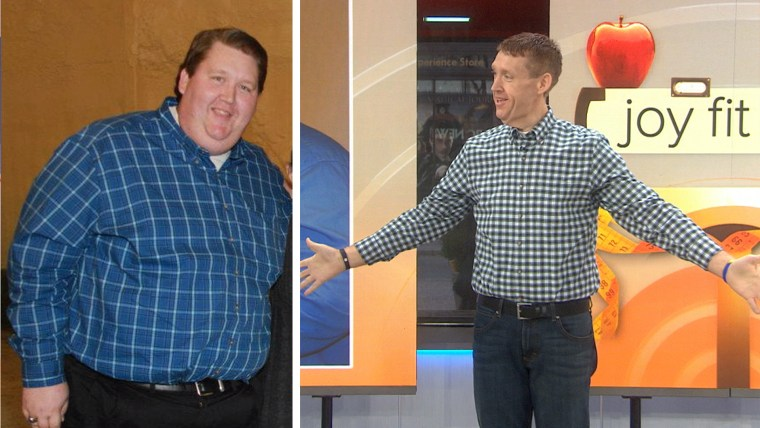 Man loses over 300 lbs. for Joy Fit Club