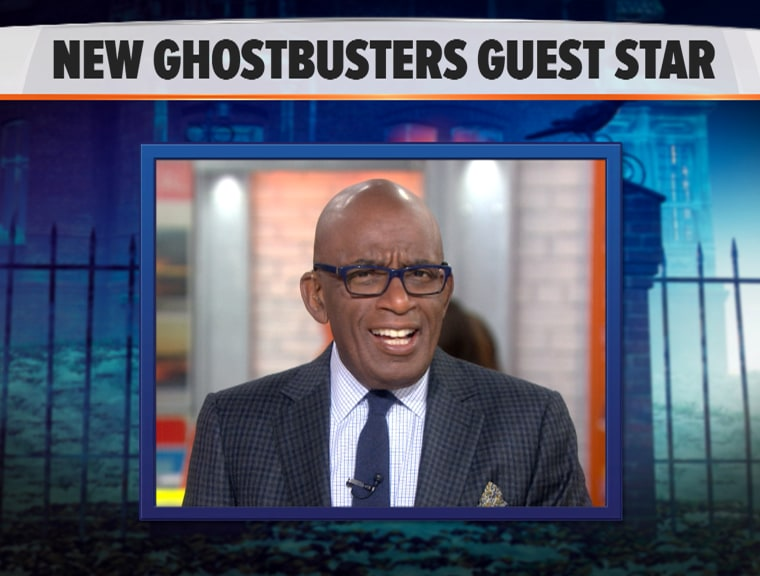 Al Roker will guest star in the new Ghostbusters