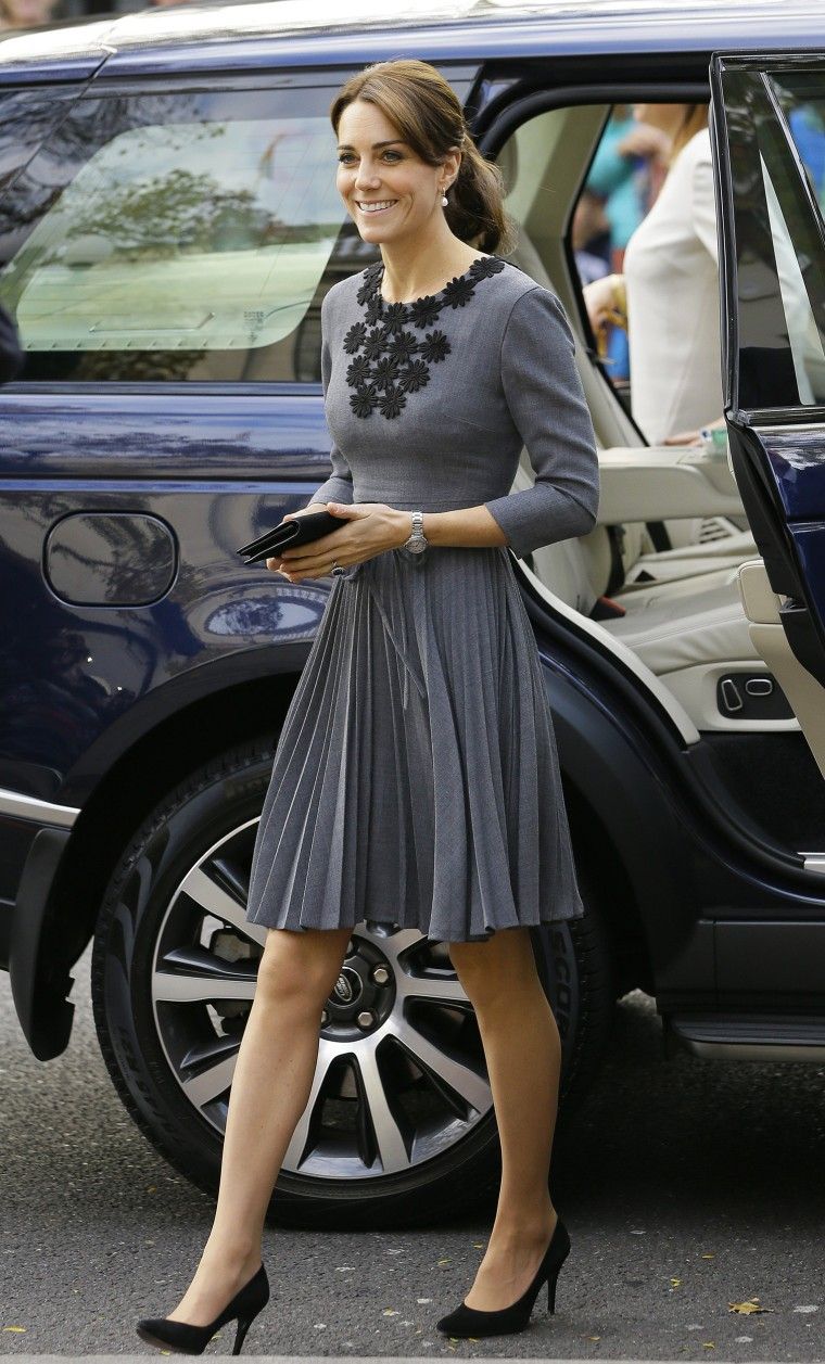 Duchess Kate at the Charity Chance mentoring event