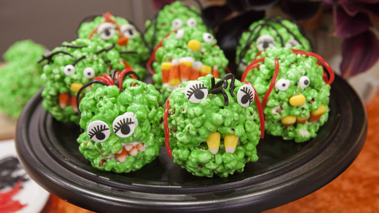 Donatella Arpaia shares her homemade halloween treats recipe.