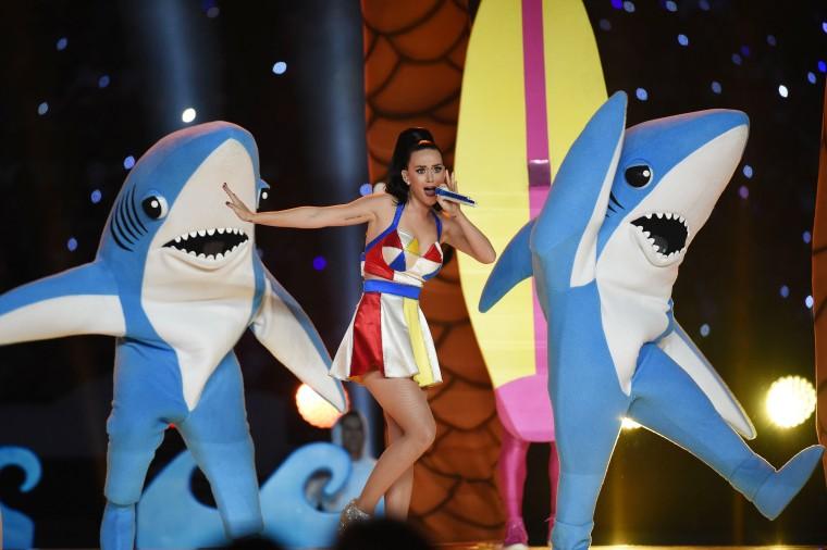 Katy Perry halftime shark