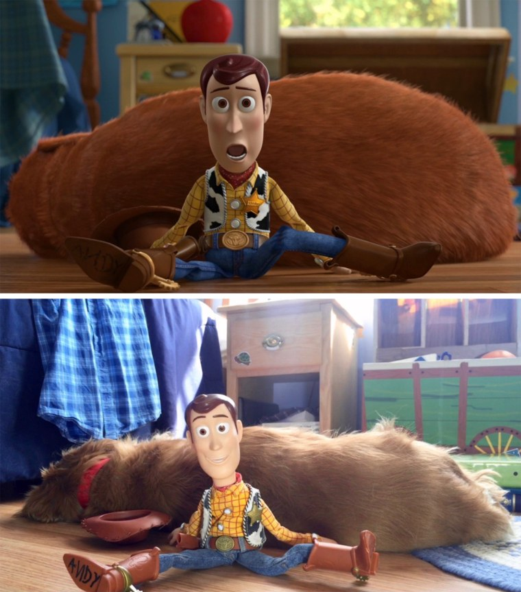 Replica of Andy's room from Toy Story 3