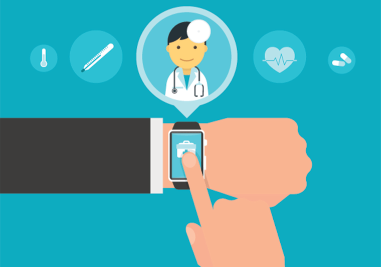 Smart wristwatch application for health with personal doctor.
