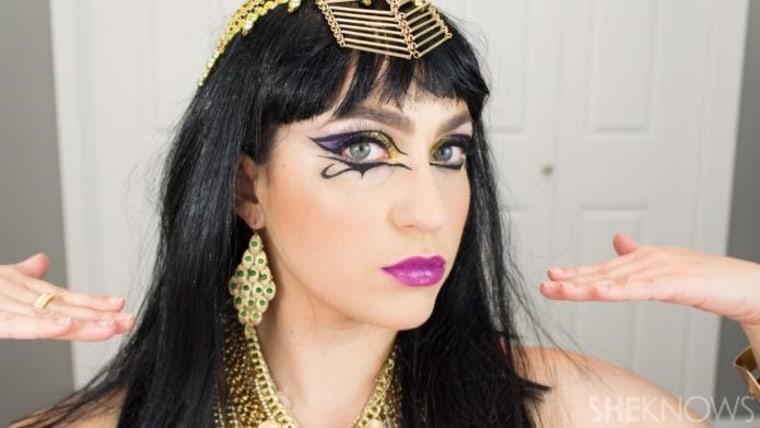 katy perry makeup, cleopatra makeup