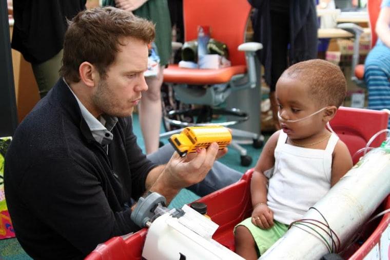 Chris Pratt Children's Healthcare of Atlanta