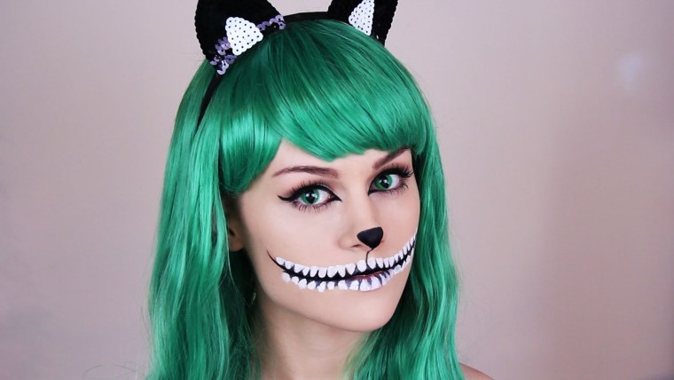 chesire cat makeup