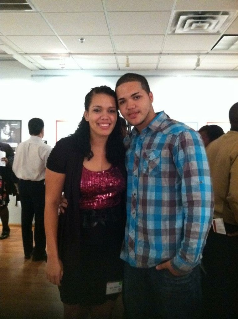 Rutgers siblings Gina Pearson and Keith DuPree unite