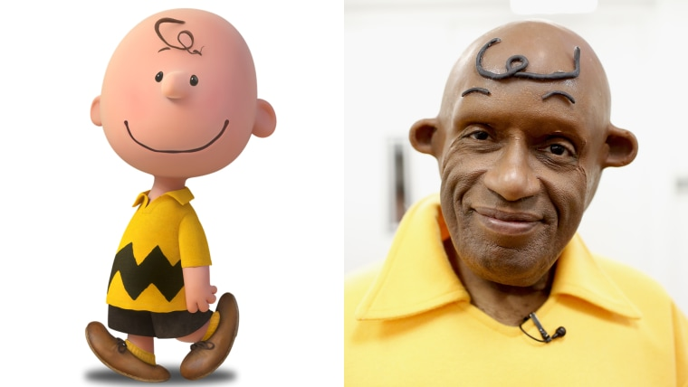 Charlie Brown and Al Roker