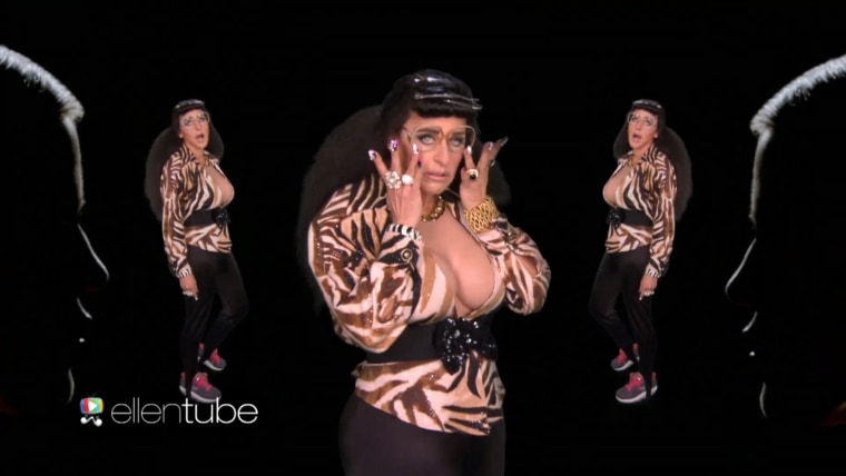 Ellen DeGeneres Reveals Her Epic Halloween Kostume: 'I'm Karla Kardashian!'