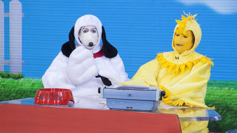 Hoda Kathie Lee Halloween Show.