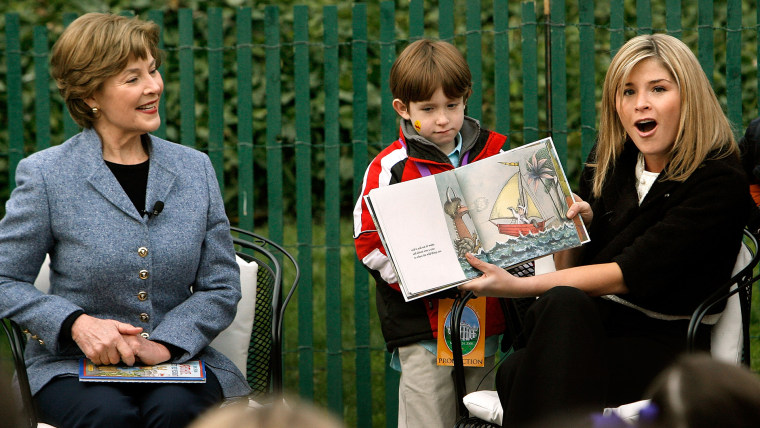 Laura Bush and Jenna Bush are publishing a children's book