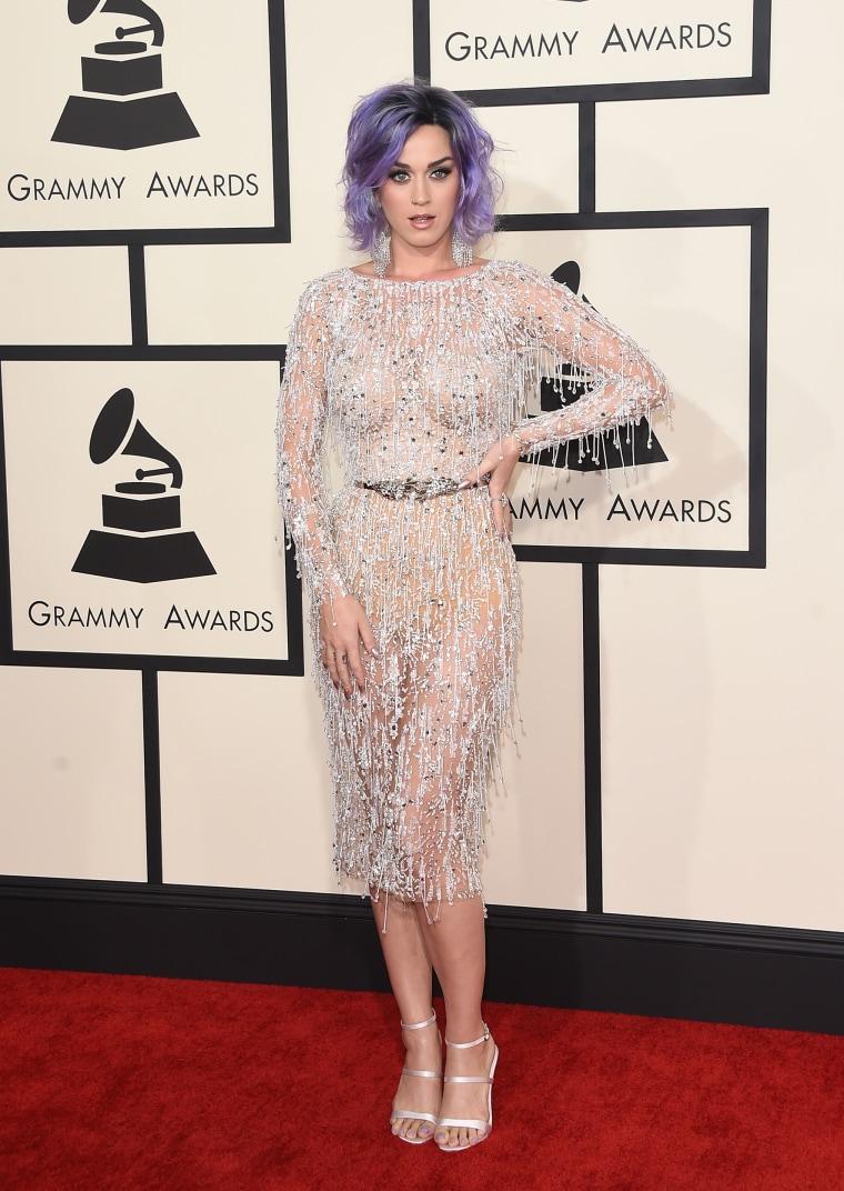 Katy Perry has had purple hair