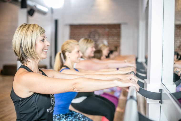 Taryn Sisco and Megan Ellis, co-managers of Barre East Fitness Studio, are fighting back against a body shaming letter.