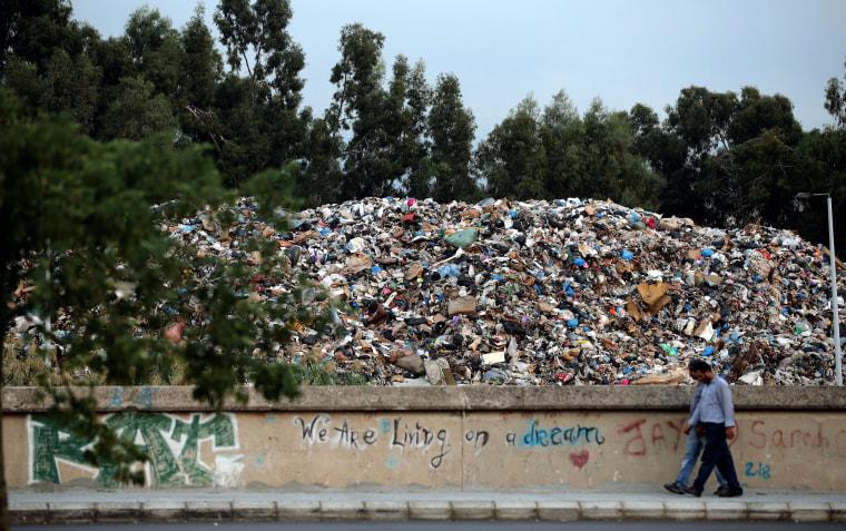 Image: LEBANON-ENVIORNMENT-CRISIS-WASTE
