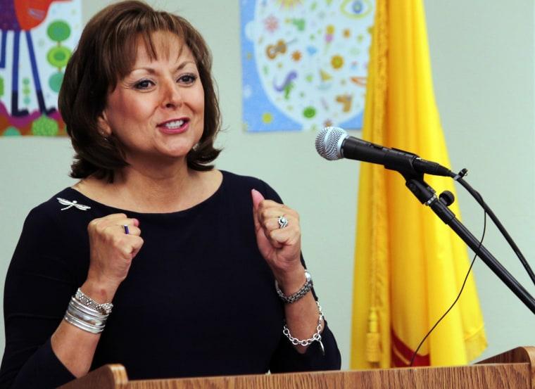 Gov. Susana Martinez is the first female Latina governor.