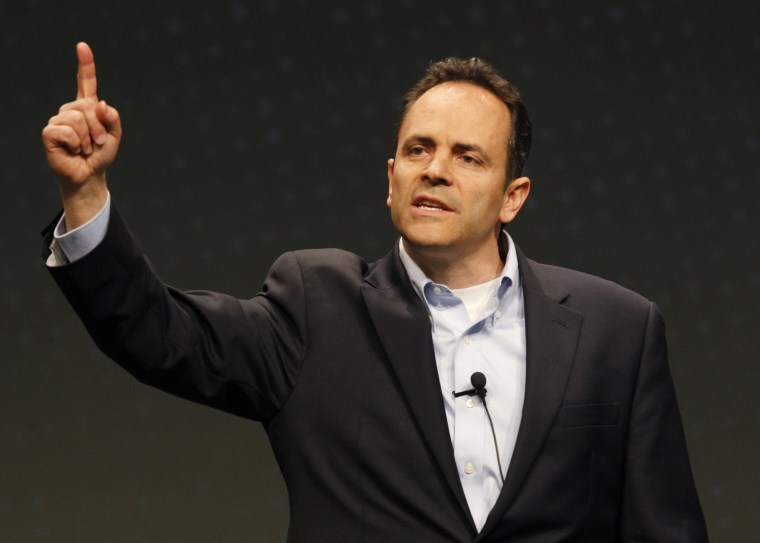 Image: Matt Bevin speaks at FreePAC Kentucky in Louisville