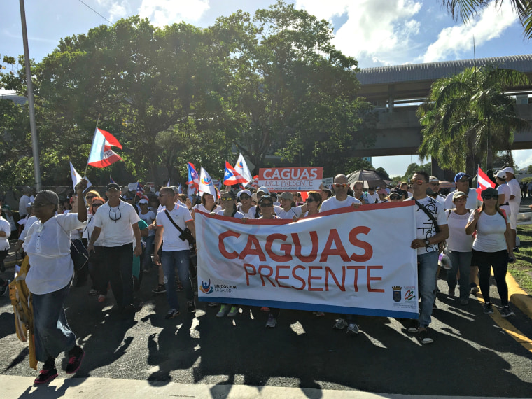 Thousands marched the streets in Hato Rey, P.R. on Nov. 5th, 2015 calling on fair and equitable healthcare funding for Puerto Rico.