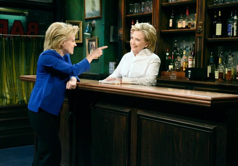 Image: Hillary Clinton on SNL