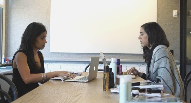 Image: Sarika Doshi and Pooja Badlani