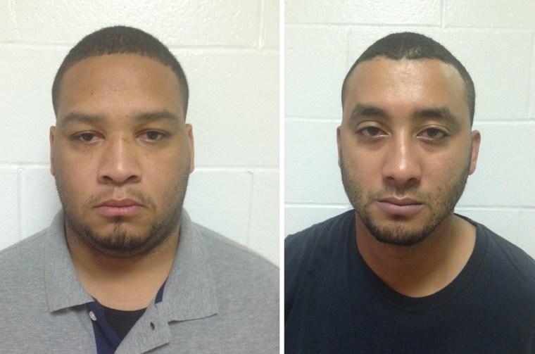Image: Derrick Stafford and Norris Greenhouse Jr.