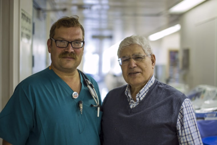 Image: Professor Ahmed Eid and Doctor Elchanan Fried