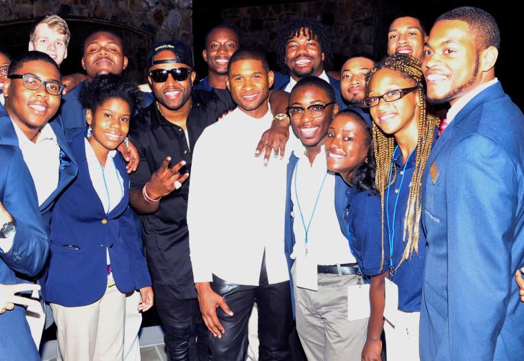 Usher Kicks Off 15th Anniversary Celebration Of Usher's New Look