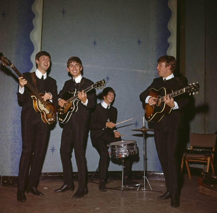 Image: (FILE) 50 Years Since The Beatles Debut Album Released