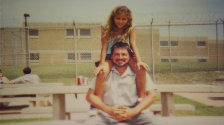 Kevin Ott with his niece, Morgan Hale.