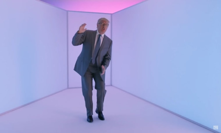 """Donald Trump in the """"Hotline Bling"""" parody for """"Saturday Night Live"""" on November 7, 2015."""