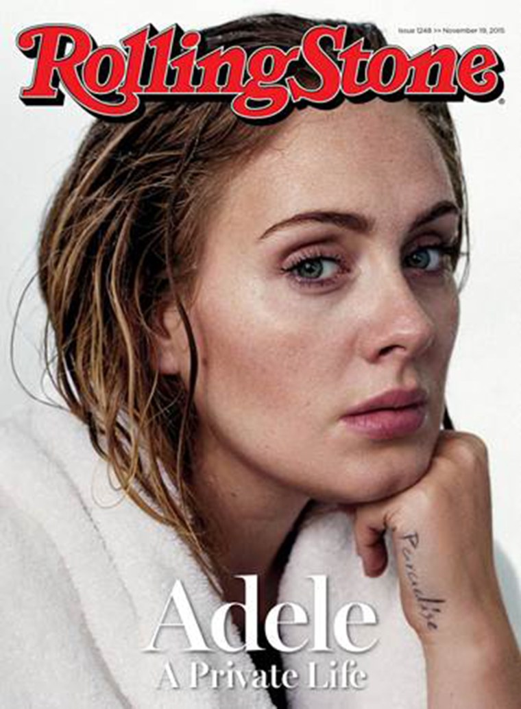 Adele on Rolling Stone cover story interview