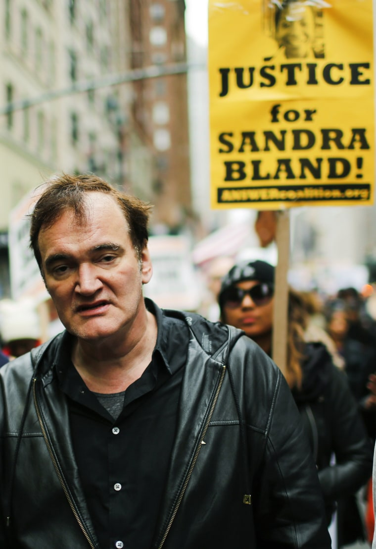 Quentin Tarantino: My words about police brutality are being twisted