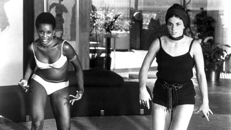 DIAMONDS ARE FOREVER, Trina Parks, Lola Larson, (as Thumper & Bambi), 1971