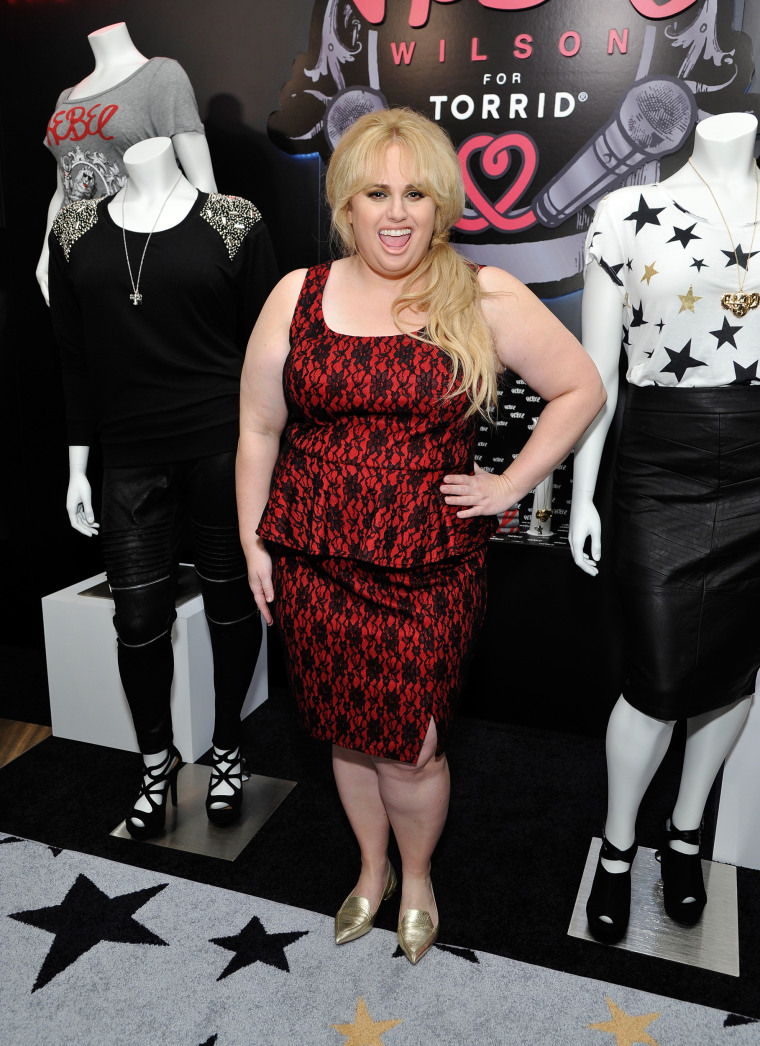 Actress Rebel Wilson attends Tracy Paul & Company presents REBEL WILSON FOR TORRID Launch at Milk Studios on October 22, 2015 in Los Angeles, California.