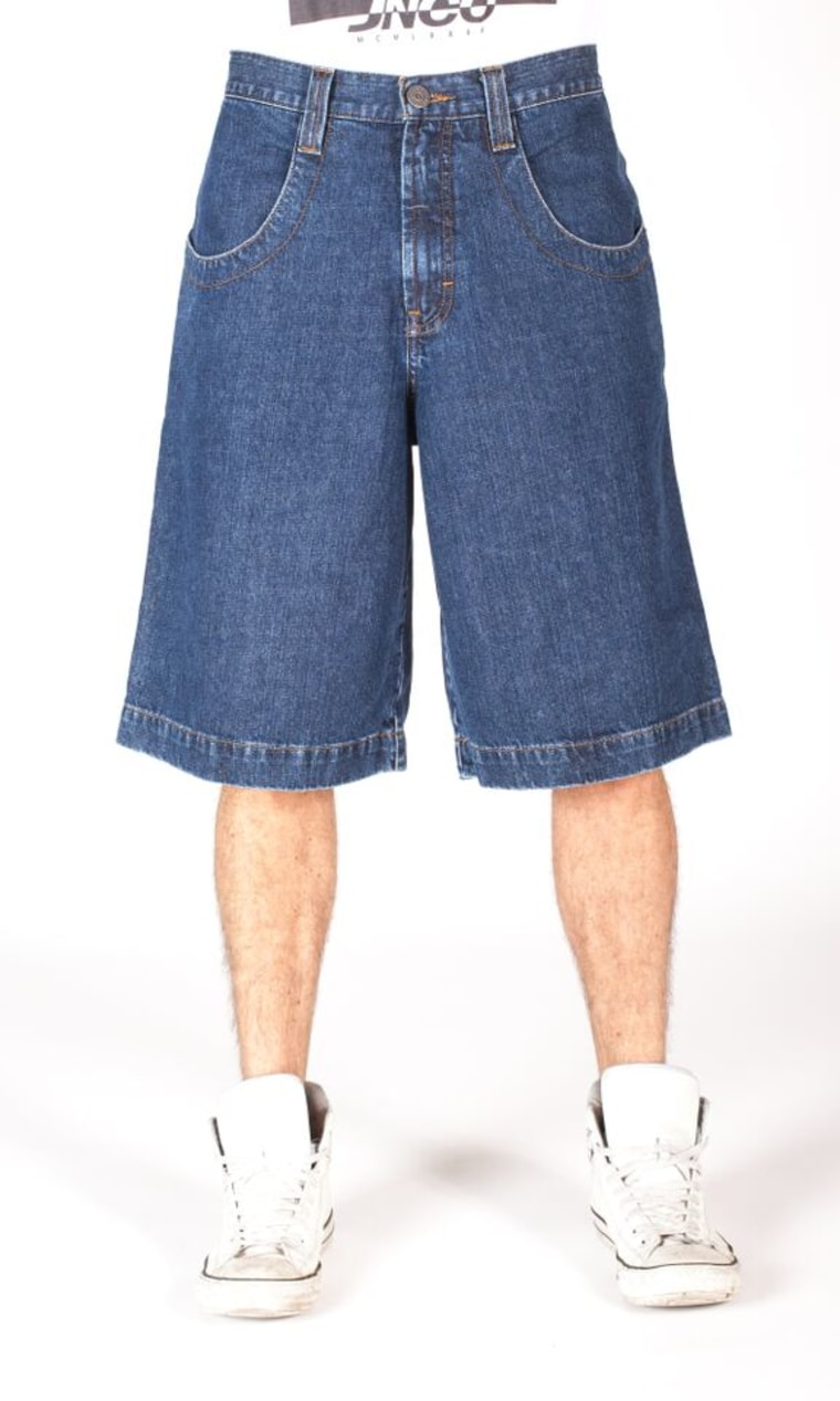 JNCO is bringing back baggy shorts just in time for Christmas shopping online