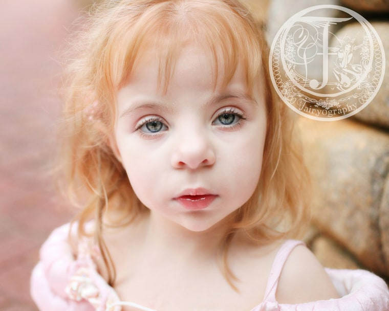 Rachel Gibson's daughter, Ava Jane, is one of the two children that inspired Larkin to start her Memorial Princess photo sessions.