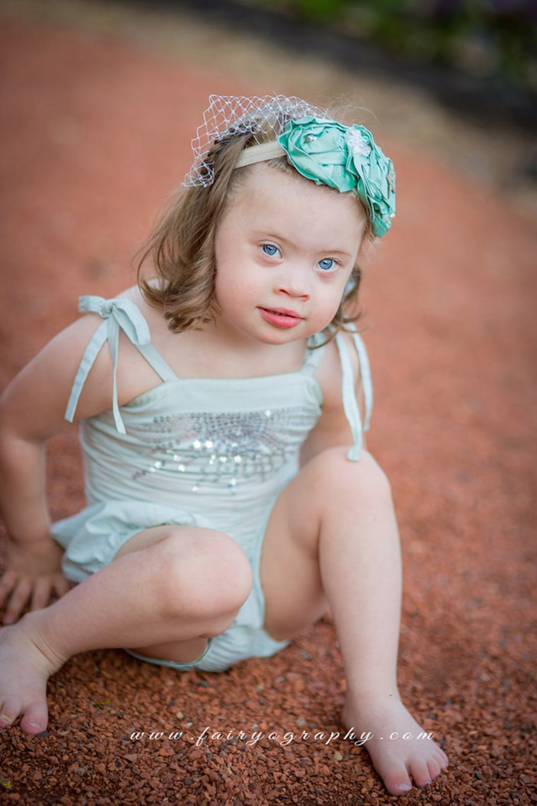 Natasha Nolan has two daughters -- Piper, 4, and Reese, 2. Piper was born with down syndrome, and had several holes in her heart, which were repaired through open heart surgery when she was just 4 months old.
