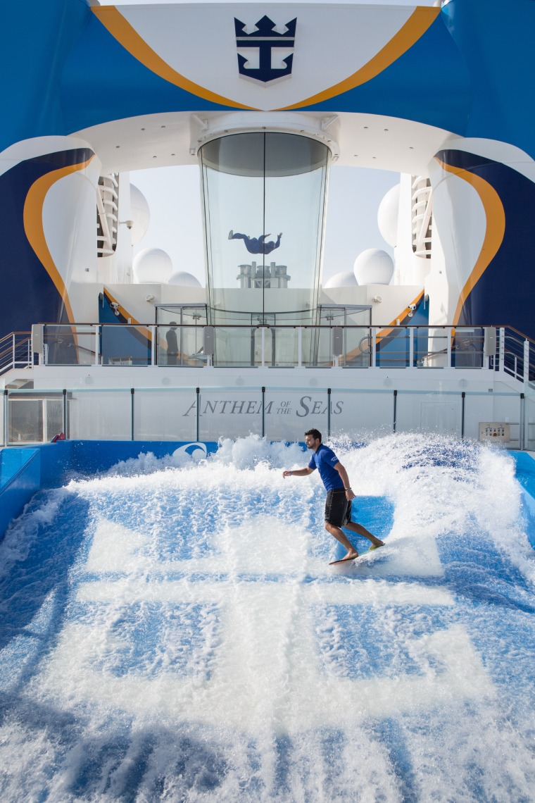 Anthem of the Seas is the latest state-of-the-art cruise ship from Royal Caribbean