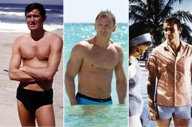 James Bond bathing suits