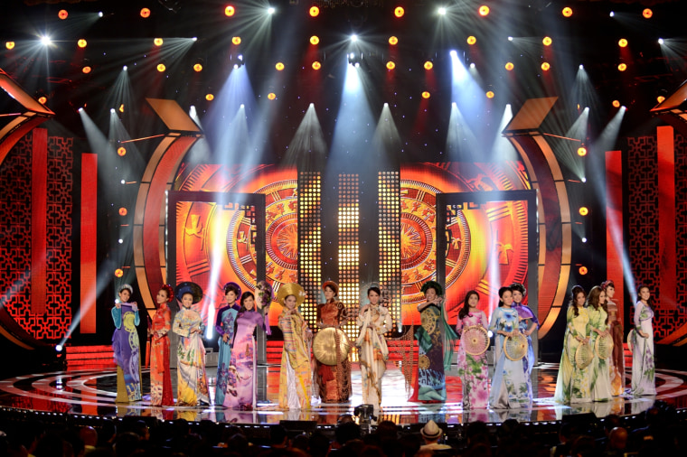 """""""Paris By Night"""" is a popular Vietnamese-language musical variety show that has filmed in France, the United States, Canada, and South Korea."""